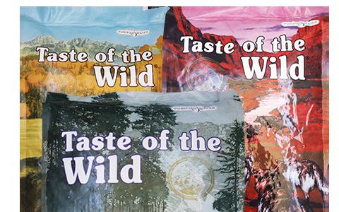 Zkombinujte si receptury Taste of the Wild tak jak chcete!