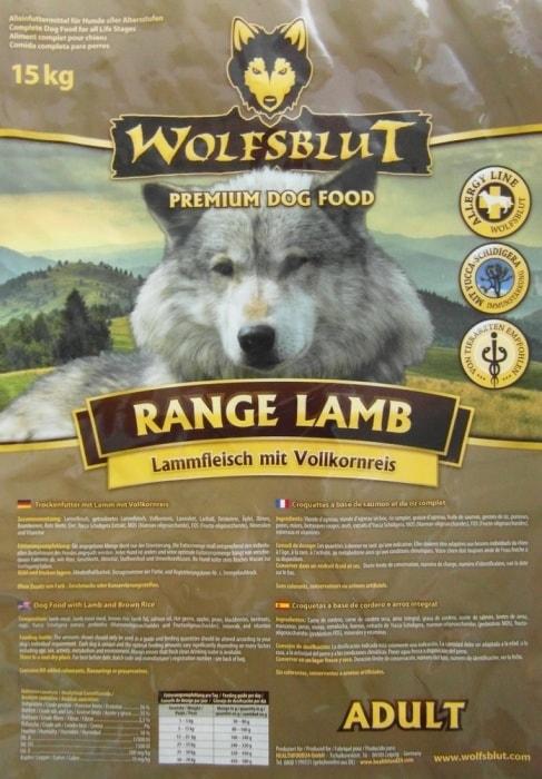 wolfsblut range lamb 15 kg. Black Bedroom Furniture Sets. Home Design Ideas