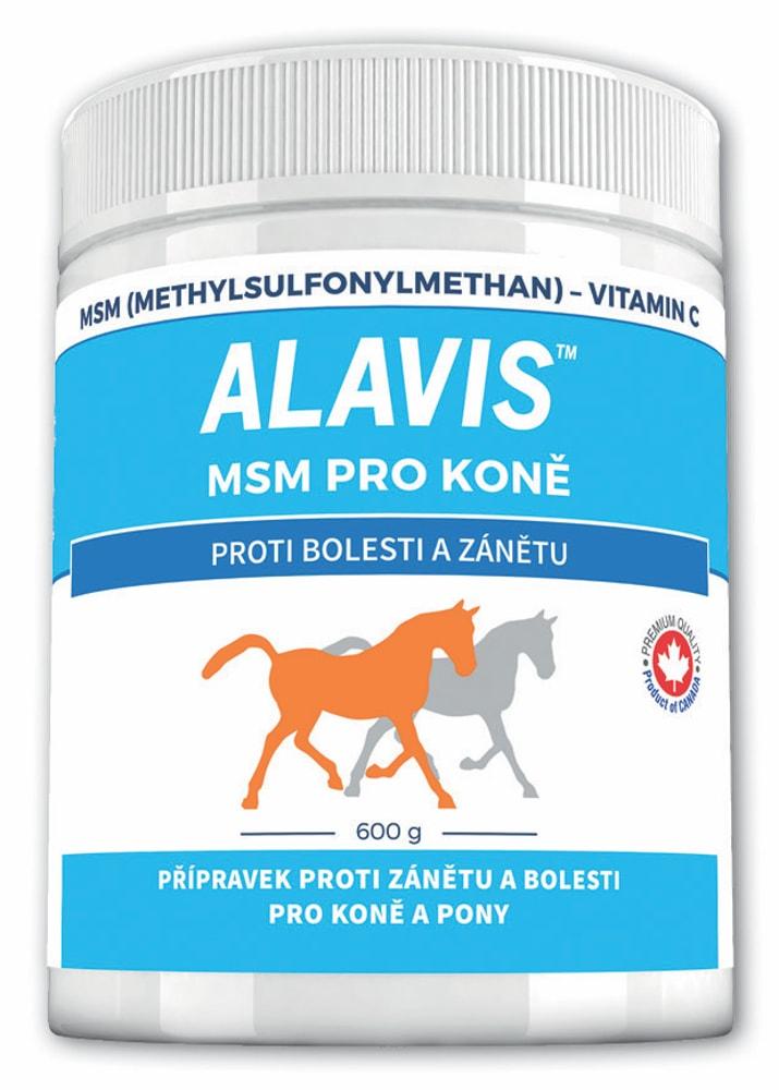 ALAVIS™ MSM pro koně 600 g eefb9a5877