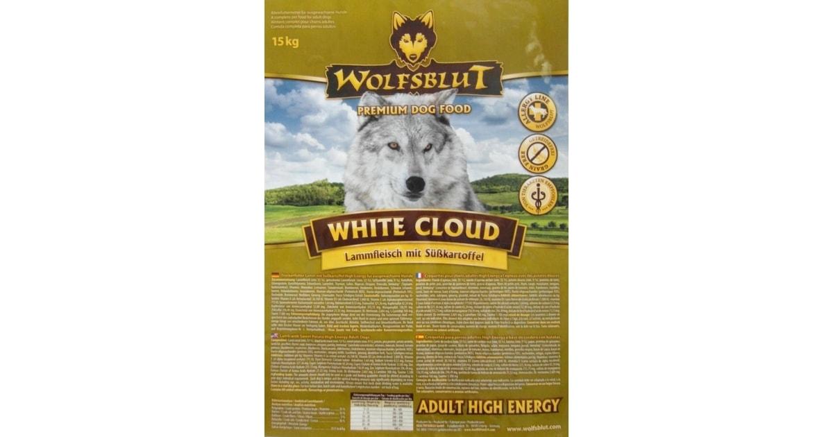 wolfsblut white cloud high energy 15 kg. Black Bedroom Furniture Sets. Home Design Ideas