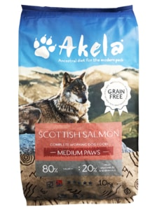 Akela 80/20 Scottish Salmon Grain Free 10 kg