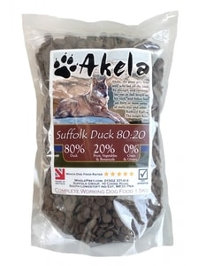 Akela 80/20 Suffolk Duck Grain Free 1,5 kg