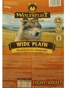 Wolfsblut Wide Plain Light 15 kg