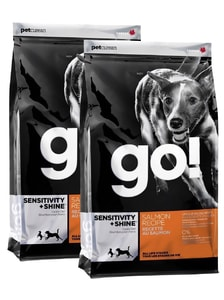 GO! Sensitivity + Shine Salmon 2 x 11,4 kg