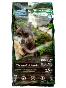 Wolf's Mountain Wild Forest 2,5 kg