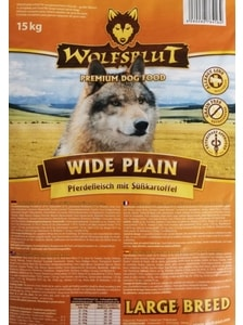 Wolfsblut Wide Plain Large Breed 15 kg