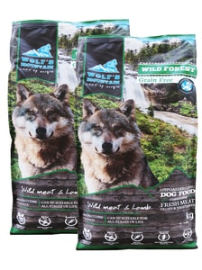 Wolf's Mountain Wild Forest 2 x 12,5 kg