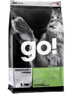 GO! Sensitive Shine Cat Trout + Salmon 7,26 kg