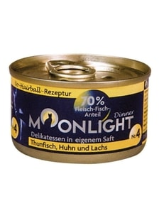 Moonlight Dinner č. 4 - 80 g tuňák, kuře, losos
