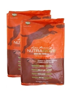 Nutra Gold Grain Free Turkey and Sweet Potato 2 x 13,6 kg