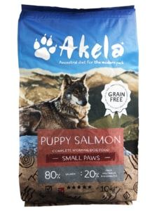 Akela 80/20 Scottish Salmon Small Paws Grain Free 10 kg