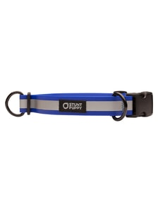 Obojek pro psy Go Dog Glo Dry Collar Royal Reflective