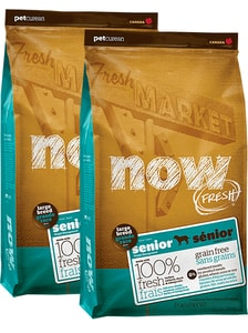 NOW! Fresh Senior Large Breed 2 x 11,4 kg