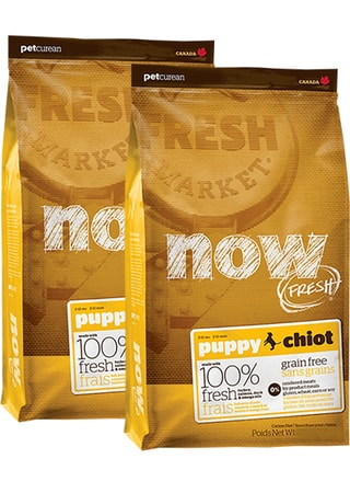 NOW! FRESH Grain Free Puppy 2 x 11,4 kg