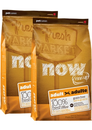 NOW! FRESH Grain Free Adult Dog 2 x 11,4 kg