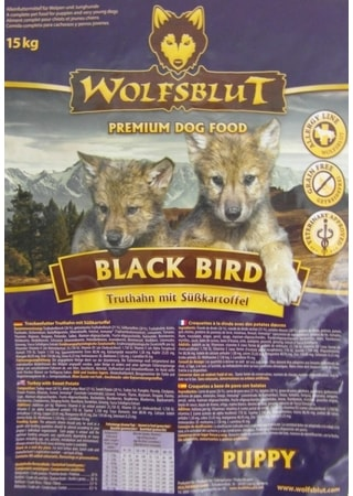 Wolfsblut Black Bird Puppy 2 kg