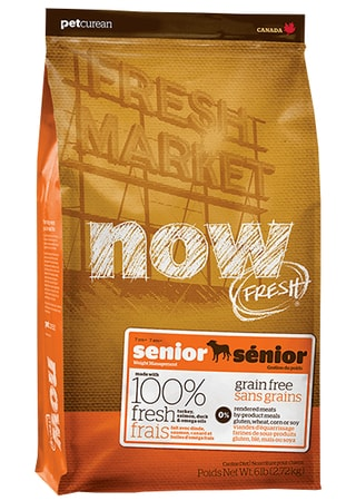 NOW! FRESH Grain Free Senior Dog 2,72  kg