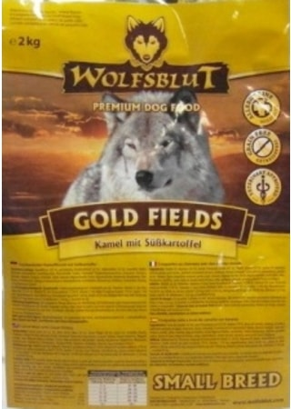 Wolfsblut Gold Fields Small Breed 2 kg