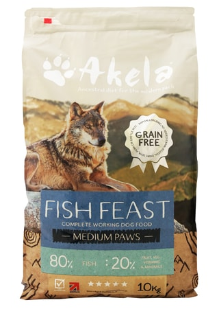 Akela 80/20 Fish Feast Grain Free 10 kg