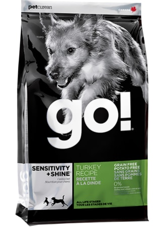 GO! Sensitivity + Shine LID Turkey 11,4 kg