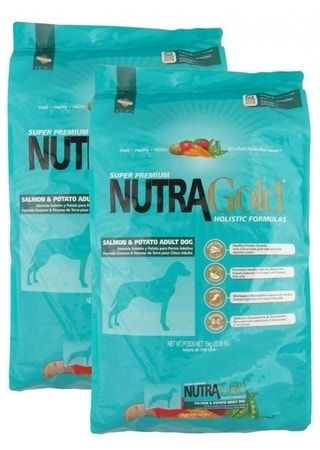 Nutra Gold Salmon & Potato Adult  2 x 15 kg