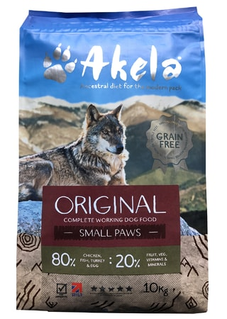 Akela 80/20 Original Grain Free Small Paws 10 kg