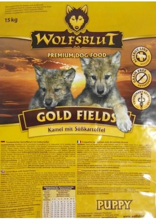Wolfsblut Gold Fields Puppy 15 kg
