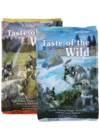Taste of the Wild High Prairie Puppy + Pacific Puppy 2 x 13 kg