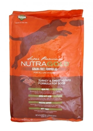 Nutra Gold Grain Free Turkey and Sweet Potato 13,6 kg