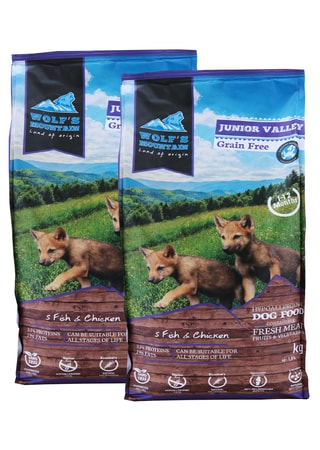 Wolf's Mountain Junior Valley 2 x 12,5 kg